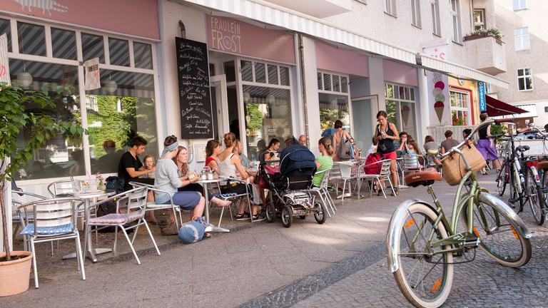 Café in Berlin Neukölln